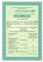 Приложение № 1 лист 1 к ТС РБ