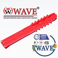 Дюбель-ёжик 6х50 без бурта с волновой распорной частью  - ISO 9001
