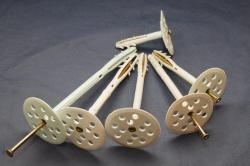 Дюбель-гриб с металлическим гвоздём
