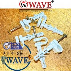крепежные изделия для монтажа электропроводки
