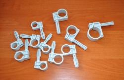 крепления-хомуты для труб и кабелей