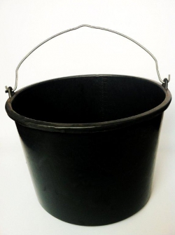 Ведро строительное 16 литров с мерной шкалой