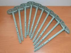 10х200 крепления для теплоизоляции зонтичные