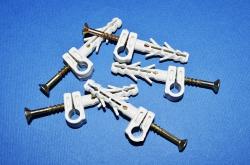крепления для круглого провода 5-6-7-8-9-10-12 с шурупом