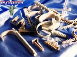 крепеж крепления для труб хомуты пластиковые