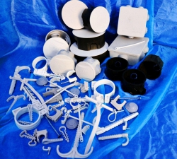 кабельные стяжки зажимы  пластиковые нейлоновые