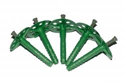 крепеж дюбели крепления 10х80 для пенопласта и теплоизоляции