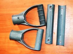 ручка лопаты для снега снегоуборочные пластиковые