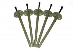 10*200 гриб зонт дюбель тарельчатый зонтичный для теплоизоляции