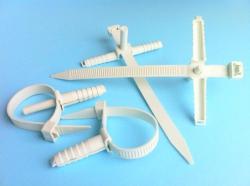 Стяжки кабельные пластиковые стяжка нейлоновая дюбель-хомут
