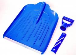 снегоуборочные пластиковые лопаты  для снега 340х435