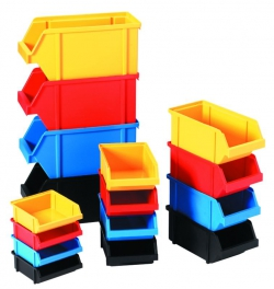 ящик пластиковый складской для метизов