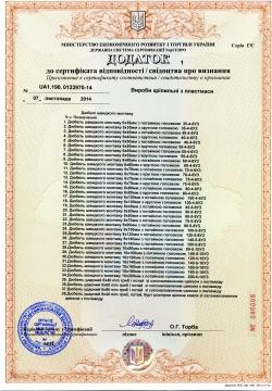 дюбель быстрого монтажа сертификат