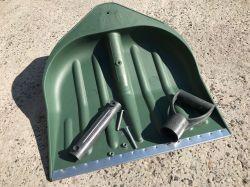Снегоуборочная лопата зеленая 440*460