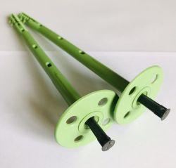 крепеж дюбель-зонтик грибок 10х180 в пенопласт утеплитель