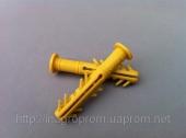 6х40 mm дюбель бурт PREMIUM с 4 парами крыльев под шуруп до 4 mm