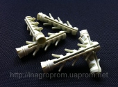 Дюбель ZUBR 10х50 mm усиленный,4 пары зубьев,удлинненная рабочая часть
