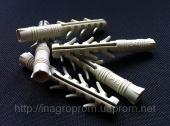 Дюбель ZUBR 10х70 mm  усиленный,4 пары зубьев,удлинненная рабочая часть