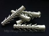 Дюбель ZUBR 16х100 mm усиленный 4 парами стопорных крыльев