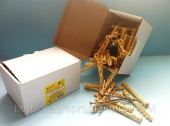 Коробка с дюбелем 8х100mm быстрого монтажа с ударным шурупом
