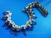 Скобы (клипсы) с гвоздём 5mm круглая для крепления провода и кабеля