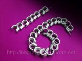 Скобы (клипсы) с гвоздём 16 mm круглые для крепления провода и кабеля - ISO 9001