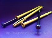 Дюбель фасадный 10х180 mm WAVE четырехраспорный бурт 12mm с М8 - ISO 9001, УКРСЕПРО