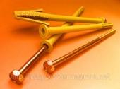 Дюбель фасадный 10х200 mm WAVE четырехраспорный бурт 12mm с М8 - ISO 9001, УКРСЕПРО