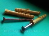Дюбели рамные 10х80 mm WAVE четырехраспорные потай с ударным шурупом  - ISO 9001, УКРСЕПРО, БЕЛСТАНДАРТ, РОССТАНДАРТ