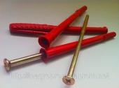 Дюбели рамные 10х160 mm WAVE четырехраспорные потай с ударным шурупом - ISO 9001, УКРСЕПРО, БЕЛСТАНДАРТ, РОССТАНДАРТ