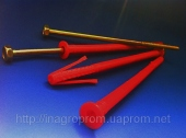 Дюбели рамные 10х200 mm WAVE четырехраспорные потай с ударным шурупом - ISO 9001, УКРСЕПРО, БЕЛСТАНДАРТ, РОССТАНДАРТ