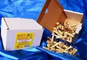 Дюбели WAVE 6х40 mm потай с ударным шурупом  в картонной коробке  - ISO 9001