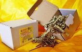 Дюбели WAVE 6х50 mm гриб с ударным шурупом  в картонной коробке  - ISO 9001