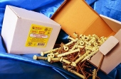 Дюбели WAVE 6х55 mm гриб с ударным шурупом  в картонной коробке  - ISO 9001