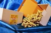 Дюбели WAVE 6х80 mm гриб с ударным шурупом  в картонной коробке  - ISO 9001