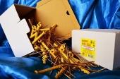 Дюбели WAVE 6х100 mm гриб с ударным шурупом  в картонной коробке  - ISO 9001