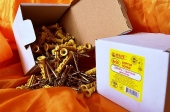 Дюбели WAVE 8х50 mm потай с ударным шурупом  в картонной коробке  - ISO 9001
