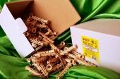 Дюбели WAVE 8х60 mm потай с ударным шурупом  в картонной коробке  - ISO 9001