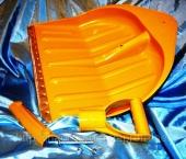 Комплектующие для лопаты: крепеж, ручка d40mm и накладка