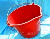 Ведро 16 литров с носиком, мерная шкала