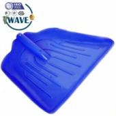 Синяя лопата для снега 340х435