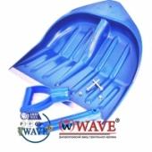 Лопаты для  уборки снега синие 440х460