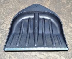 лопаты для снега чёрные морозоустойчивые