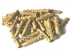 Дюбель ZUBR 12х60 mm усиленный,4 пары зубьев,удлинненная рабочая