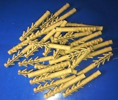 Дюбель ZUBR 10х80 mm  усиленный,4 пары зубьев,удлинненная рабочая часть